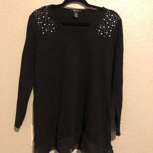 Style & Co Studded Sweater